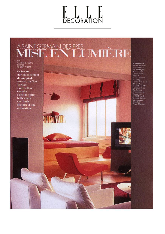 Valentine Bärg Architectures Genève Elle Décoration