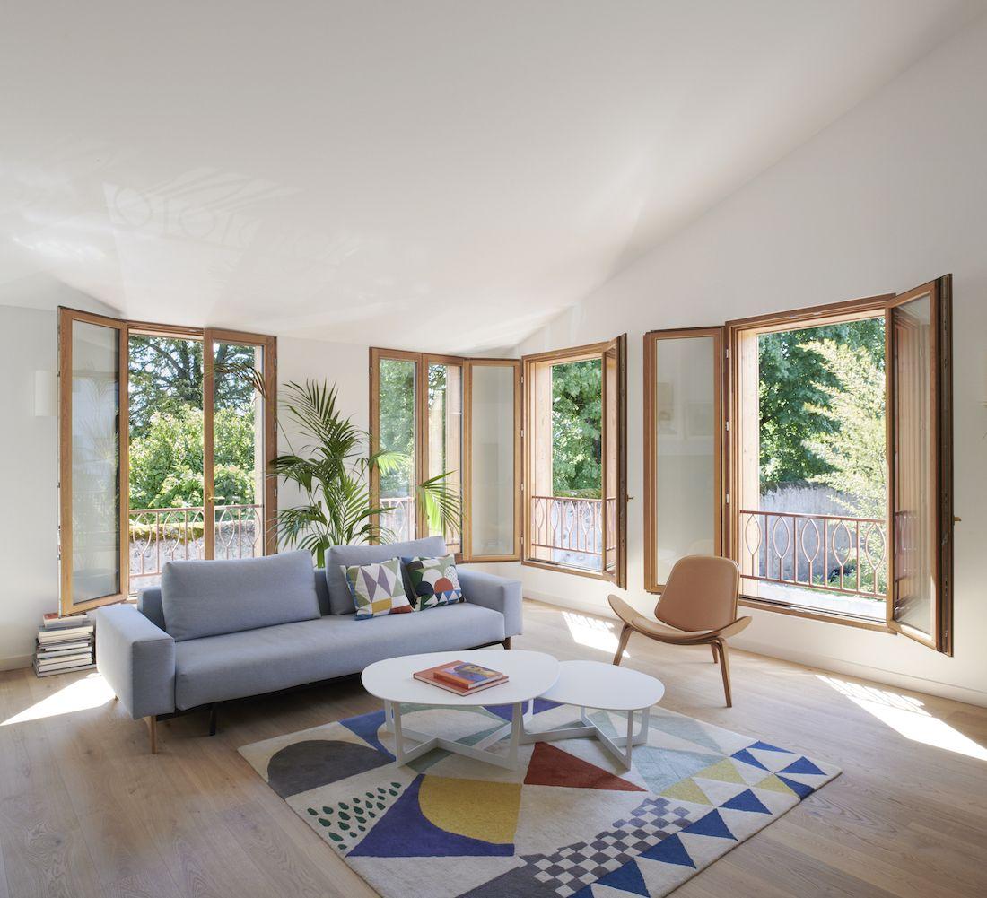 Valentine Bärg Architectures Geneva Village Wooden House 6