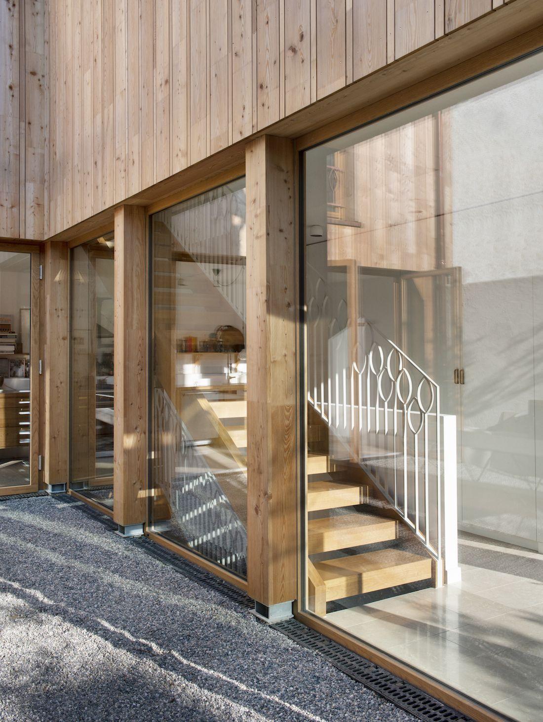 Valentine Bärg Architectures Geneva Village Wooden House 9