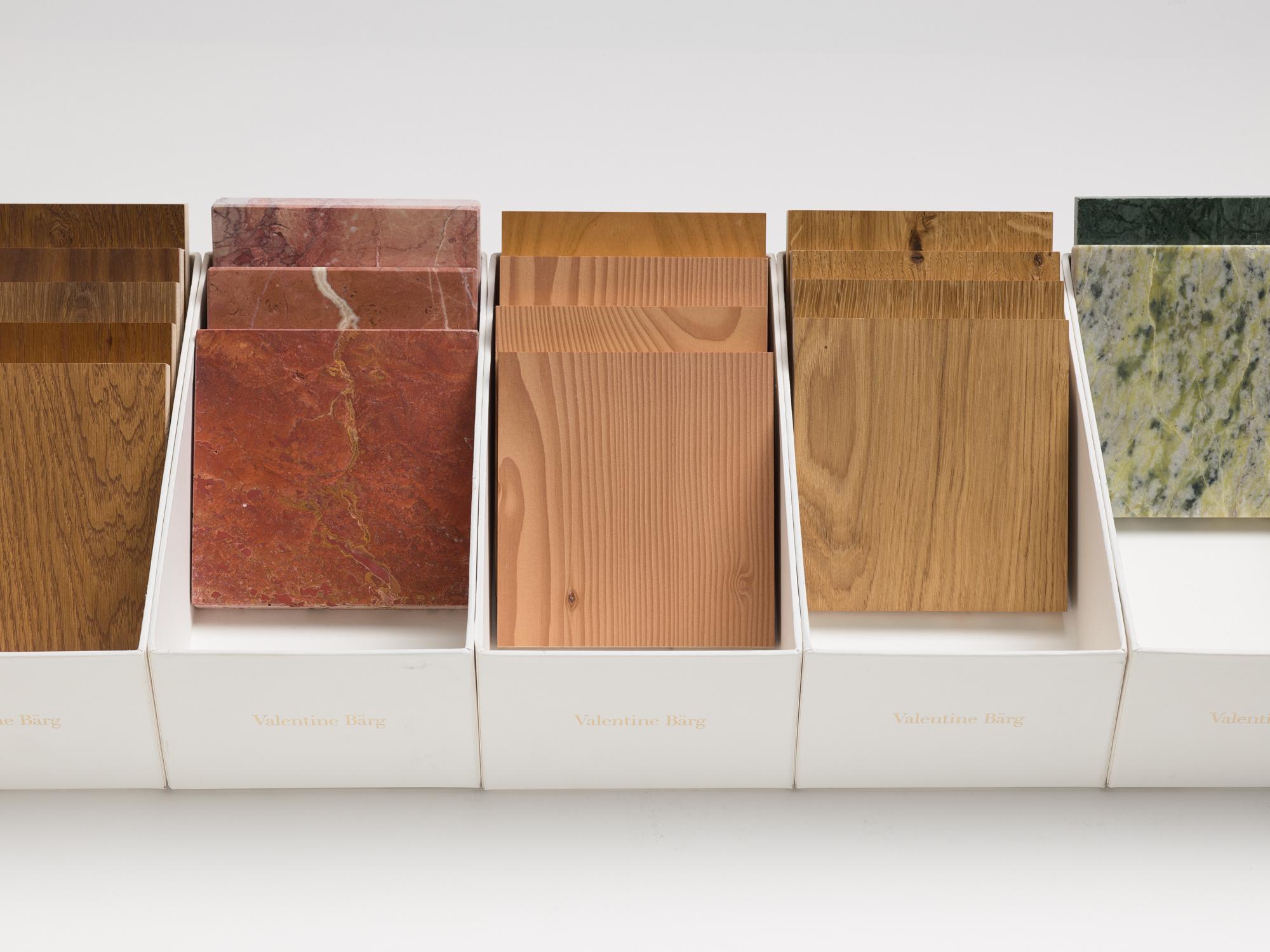 Valentine Bärg Architectures Genève La collection Matériaux 3