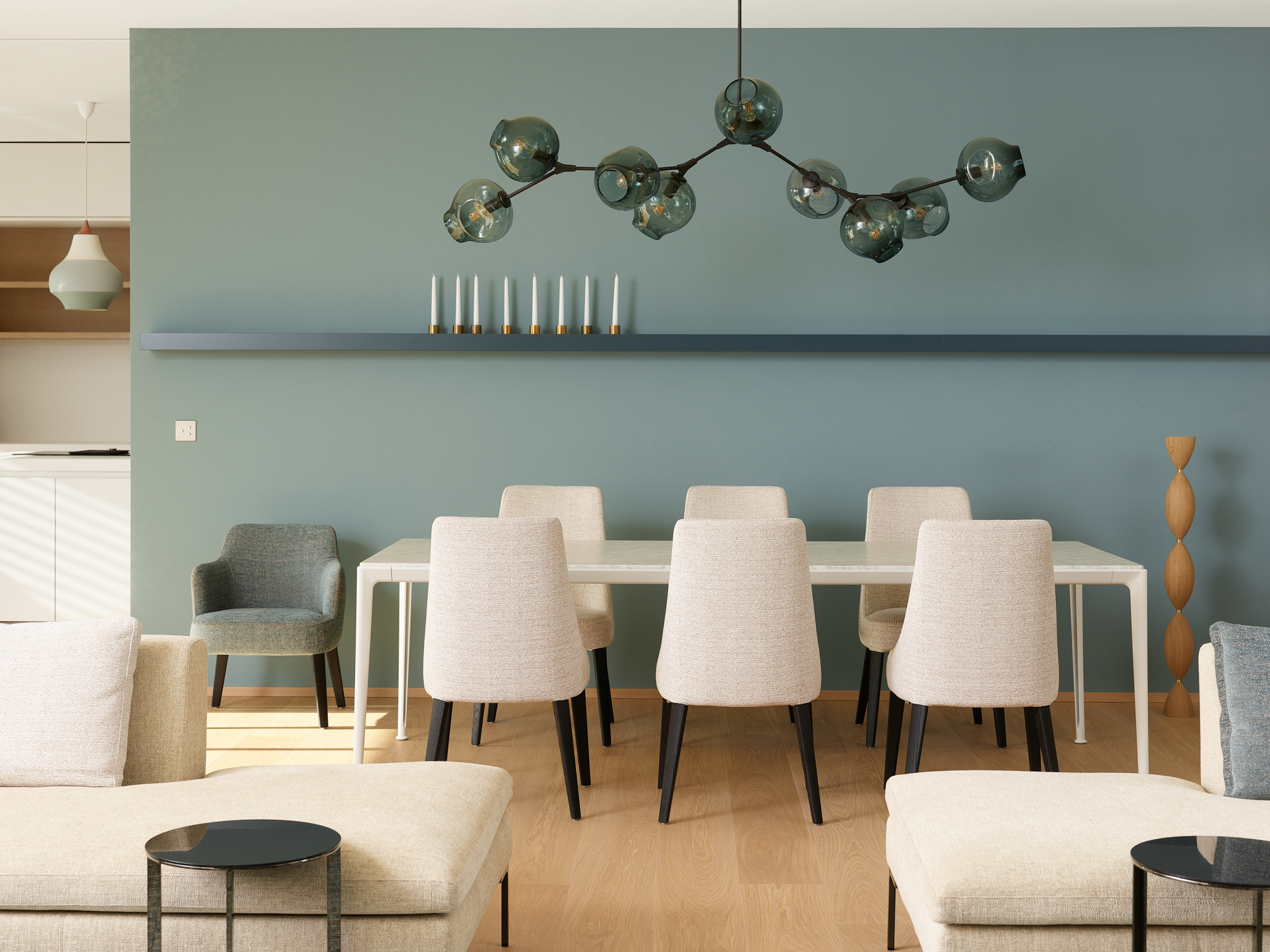 Valentine Bärg Architectures Genève Décoration Intérieur Design Appartement Vandoeuvres 6